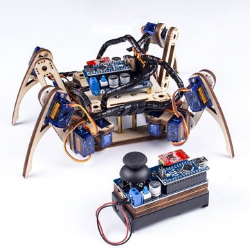 SunFounder SF-Crawling V2.0 Remote Control Crawling Quadruped Robot for Arduino Nano