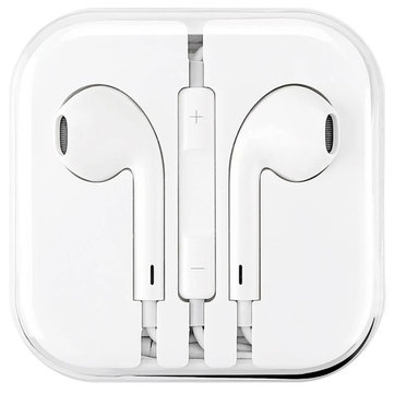 BIAZE 3.5mm Wired Control Earpod In-ear Earphone Headphone with Mic for Iphone Samsung Xiaomi