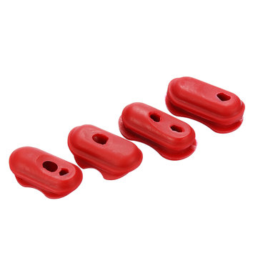 4pcs Plastic Sleeve Red Wire Protection for Xiaomi Mijia Electric Scooter Repair Parts Accessories