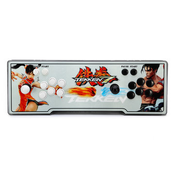 PandoraBox 5s 1299 in 1 Double Stick Dual Players Fight Games Arcade Game Console
