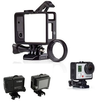 Standard Frame With UV Lens Kit Mount For Gopro Hero3 3+ 4