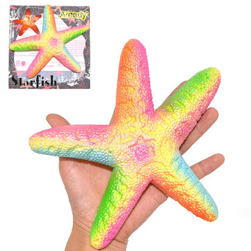 Areedy Starfish Squishy 18cm Slow Rising Original Packaging Collection jouet cadeau décor