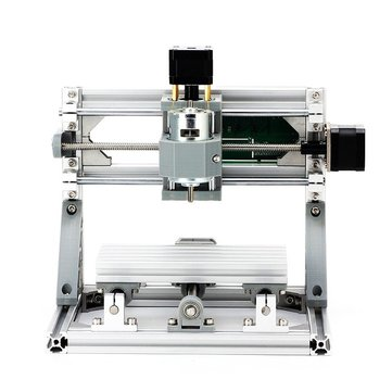 1610 3 Axis Mini DIY CNC Router Spindle Craving Wood Engraving Milling Engraver Machine 160x100x45mm