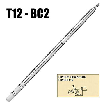T12-BC2 Iron Tips for Hakko Soldering Rework Station FX-951 FX-952