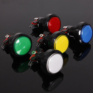 45mm Arcade Video Game Big Round Push Button LED Lighted Illuminated Lamp