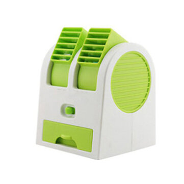 DC 5V Portable USB Rechargeable Water Cooler Cooling Fan Desk Mini Air Conditioner