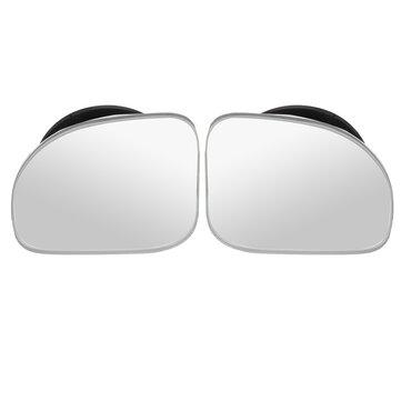 2PCS Justerbar bil Konvex Blind Spot Side Bakifrån Spegel vidvinkel
