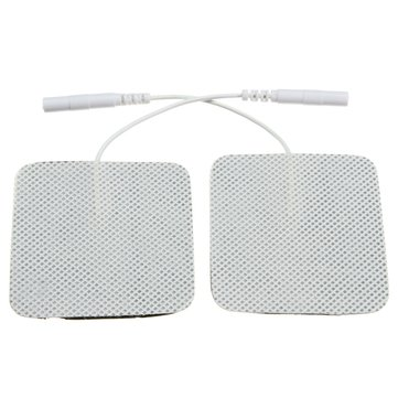 Buy 2pcs Electrode Pads for TENS EMS Tens Acupuncture Replacement Stimulator Self Adhesive Reusable for $1.94 in Banggood store