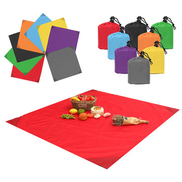 IPRee® 140x152CM No-Sand Waterproof Beach Mat Camping Outdoor Picnic Large Blanket