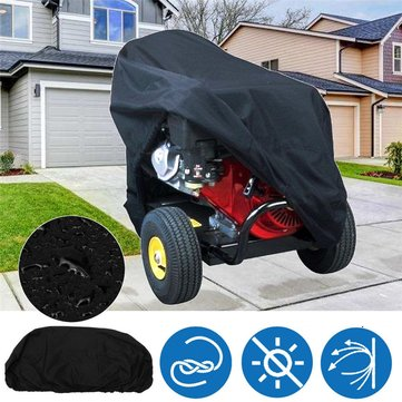 Anti-UV Waterproof Black Protective Cover Polyester Fabric Gas Pressure Washer Cover