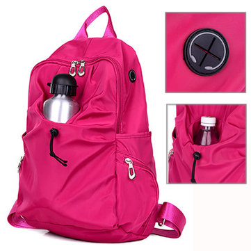 Women Nylon Light Weight Backpack Outdooors Travel Sports Hiking Rucksack