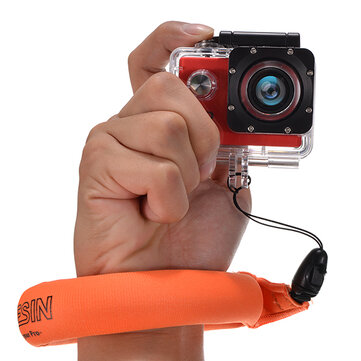 Waterproof Float Hand Floating Wrist Strap for Xiaomi Yi Gopro Hero 3/3+/4 SJcam EKEN H9 H9R H8 H8R H8 Pro Action Camera