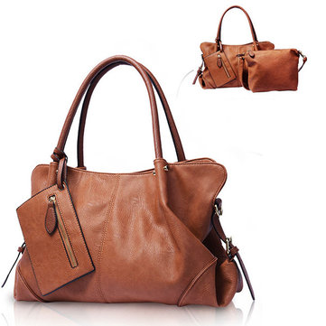 Women Picture Package 3 Pieces Shoulder Bag Handbag