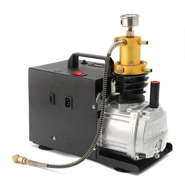 4500PSI 40Mpa High Pressure Electric Pump Integral Air Compressor PCP Air Pump Built-in Separation