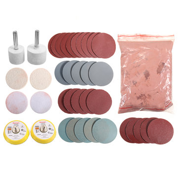 Logical Glass Polishing Kit~70g Cerium Oxide~2 Pad~scratch Remover~windscreen ~7 Pack Back To Search Resultstools