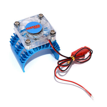 Heatsink Fan Cooling For 1/10 HSP HPI tamiya FS Kyosho TRAXXAS Yokomo Wltoys 36mm Motor RC Car Parts