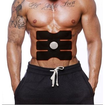 EMS Muscle Trainer Patch Training Gear Scarping Massage Acupuncture Tapping Massager