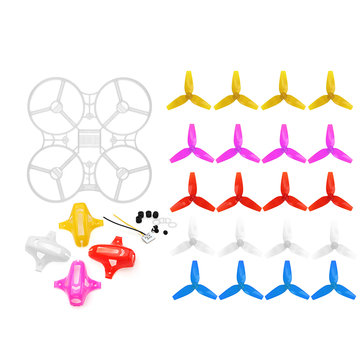 Frame Kit Canopy Propeller Sets For Kingkong/LDARC TINY 8X RC Drone Quadcopter Spare Parts