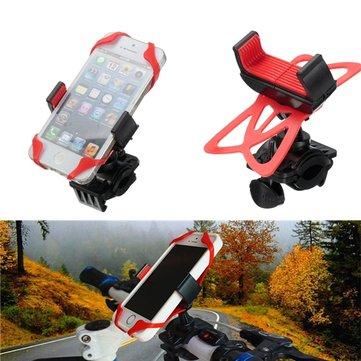 Manillar de la bici de la motocicleta universal de montaje en banda soporte para el teléfono celular