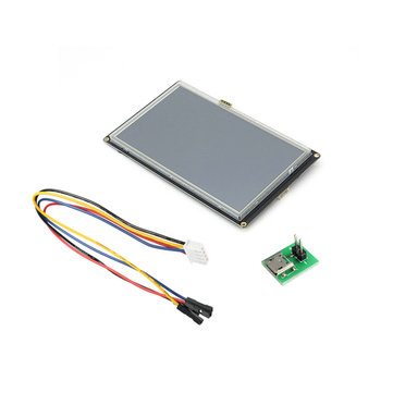 Nextion Enhanced NX8048K070 7.0 Inch HMI Intelligent Smart USART UART Serial Touch TFT LCD Module Display Panel For Raspberry Pi Arduino Kits