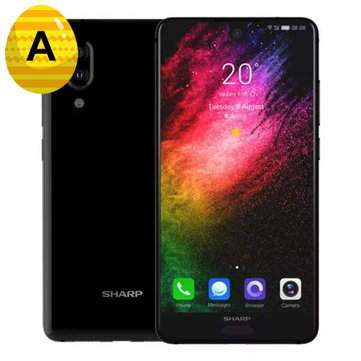 SHARP AQUOS S2(C10) Global Version 5.5 Inch FHD+ NFC Android 8.0 4GB RAM 64GB ROM Snapdragon 630 Octa Core 2.2GHz 4G Smartphone Smartphones from Mobile Phones & Accessories on banggood.com