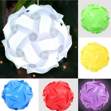 25CM 30 Elements Ceiling Pendant Modern IQ Jigsaw Home Hanging Xmas Lamp Light Shade