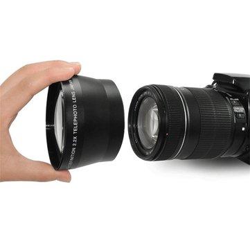 Lightdow Universal 67mm 2.2x Telephoto Tele Lens for DSLR Camera