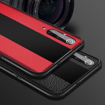 US $ 6.99 Bakeey luxo à prova de choque de silicone macio PU de couro temperado vidro caixa protetora para Xiaomi Mi9 Mi 9 casos e couro de Telemóveis & Acessórios na Banggood.com