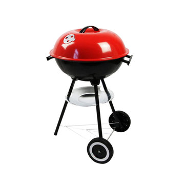 Charcoal Barbecue BBQ Grill Outdoor Camping Cooker Bars Backyard Smoker Tool