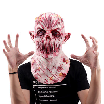 Living Dead Zombies Cosplay Mask Costume Props Helmet Horror Vampire Halloween