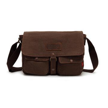 Men Canvas Vintage Messenger Bag Satchel Bag Shoulder Bag Travel Bag