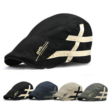 Mens Summer Adjustable Beret Caps Outdoor Visor Newsboy Hunting Dad Hats