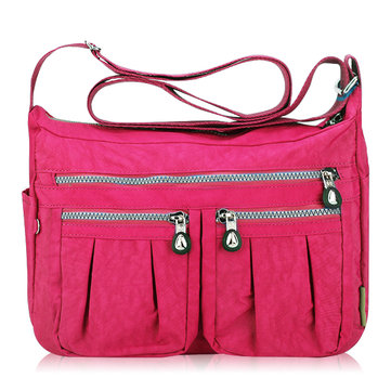 Women Nylon Light Weight Bag Casual Waterproof Shoulder Bag