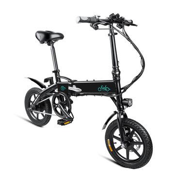 US $ 589.00 31V% FIDO D1 36V 250W 10.4Ah 14 Inci Lipat Sepeda Moped 25km / h Mileage Sepeda & Sepeda Listrik dari Olahraga & Outdoor adalah banggood.com