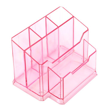 Nail Art Pens Tools Holder Acrylic Files Brushes Cotton Organizer Plastic Storage Case Makeup Tool