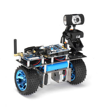 Xiao R STM32 Self-Balancing Smart Roly Robot Car Wifi Video Module APP Control Finished Version