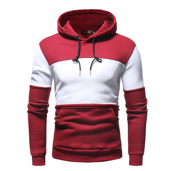 Men's Cotton Drawstring Casual Pullover Hoodies Sweatshirts