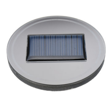 6.8cm Solar LED Car Cup Holder Bottom Pad Mat Light Trim for All Cars Models