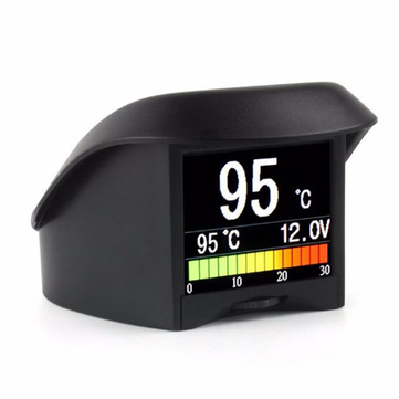 Auto Multifunctions OBD A202 Water Temperature Gauge Digital Voltage Meter Tachometer Speed Meter