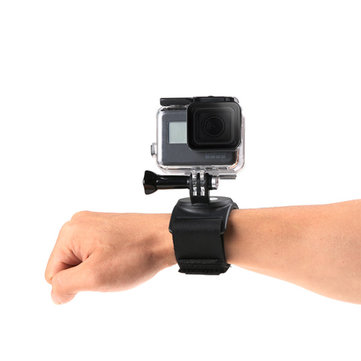 360 Degree Steering Strap Wrist Band for Gopro6 Hero5/4/3+/Xiaomi Yi/SJCAM Sports Camera