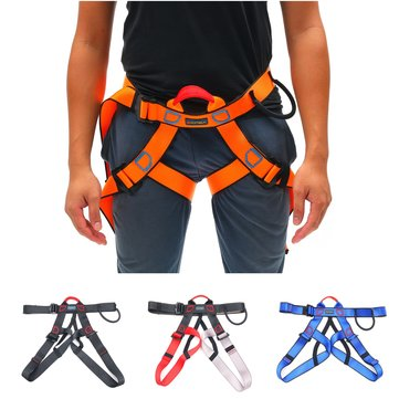 Outdoor Safety Seat Rappelling Harness Rescue Rock Climbing Sitting Bust Belt