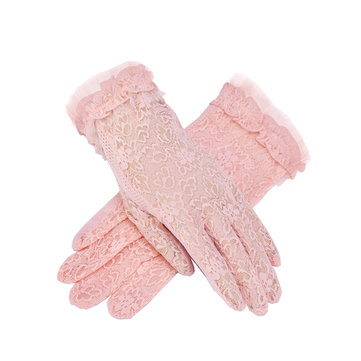 Summer Lace Sunscreen Anti-UV Gloves