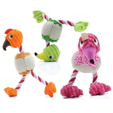 Yani HP-PT6 Pet Dog Plush Toy Sound Bird Squeaky Chew Puppy Play Dog Cat Toy