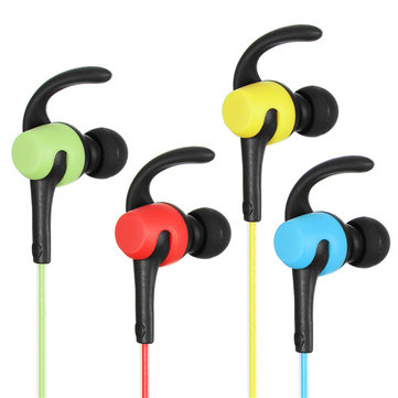 Bluetooth Headset LED Sport Stereo Headset Earbud Earphone Headphone
