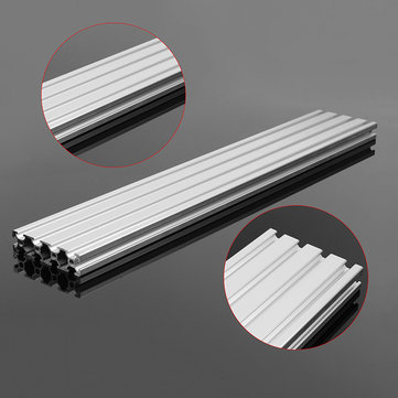350mm/500mm Length 2080 T-Slot Aluminum Profiles Extrusion Frame For CNC