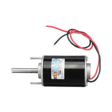 High Speed Adjustable DIY DC 12V 1A 30W 3000rpm Marshmallows Machine Gear Motor