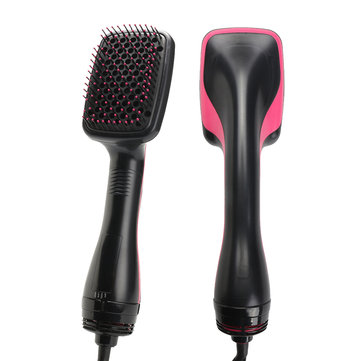 2 in 1 1000W Smoothing Hair Dryer & Paddle Brush Hair Styler Comb Salon Beauty