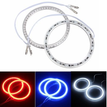 94mm Car 51 LED SMD Light Angel Eye Halo Ring Lamp Bulb For BMW