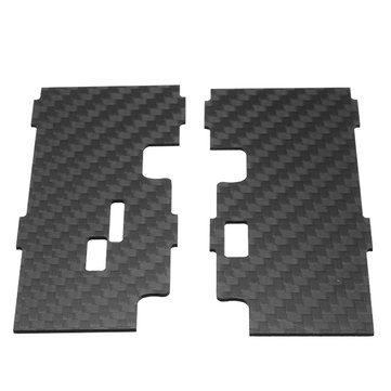 2 PCS Eachine Wizard X220S FPV Racer RC Drone Spare Part Back Side Plate 1.0mm Carbon Fiber