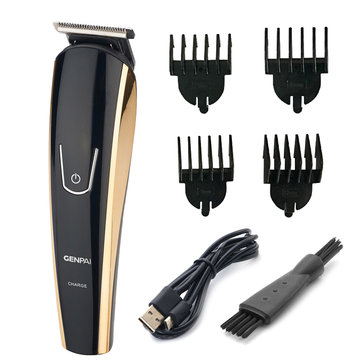 GENPAI Electric Hair Clipper Trimmer 110-240V Travel Men Child Home Haircut Beard Cutting Machine